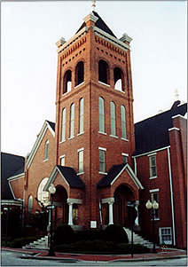 First Baptist Church - 201 Anderson Street - Fayetteville, NC